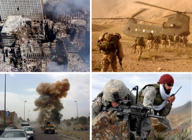 War montage